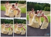 Bridemaids having fun
